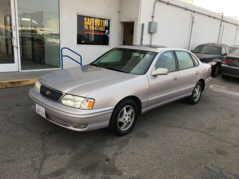 1998 Toyota Avalon for sale at Safi Auto in Sacramento CA