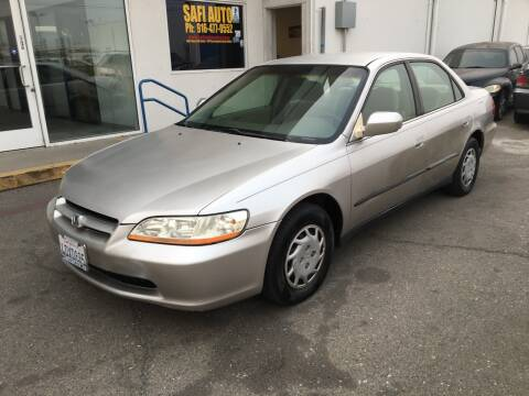 1999 Honda Accord for sale at Safi Auto in Sacramento CA
