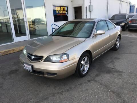 2003 Acura CL for sale at Safi Auto in Sacramento CA