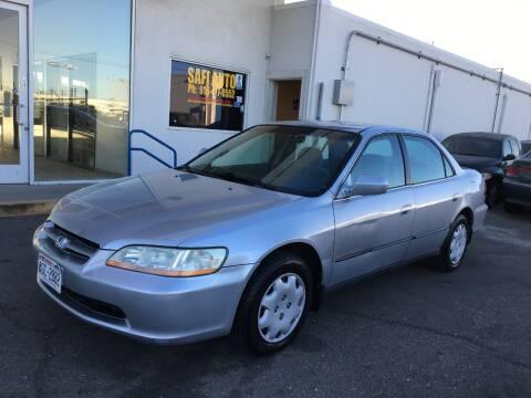 2000 Honda Accord for sale at Safi Auto in Sacramento CA