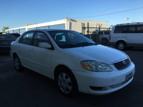 2007 Toyota Corolla for sale at Safi Auto in Sacramento CA