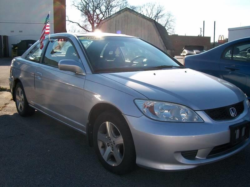 2004 Honda Civic EX 2dr Coupe - Richmond VA