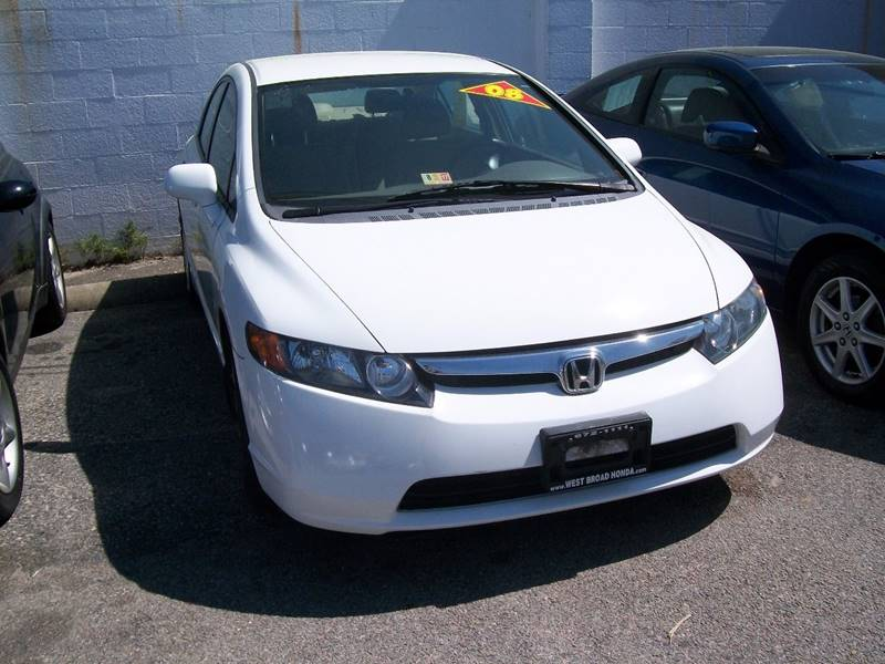 2008 Honda Civic LX 4dr Sedan 5A - Richmond VA