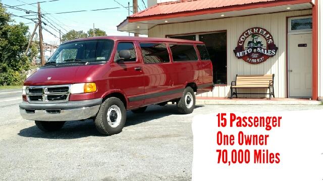 384d1e5769 2002 Dodge Ram Wagon 3500 Maxi 3dr Extended Passenger Van - Mechanicsburg PA