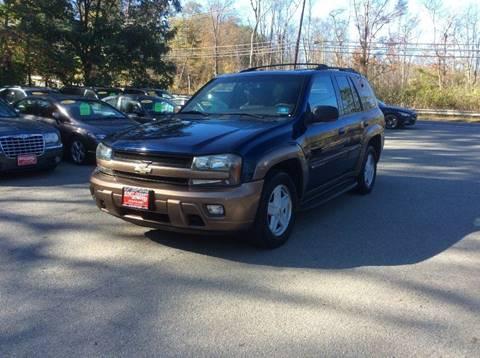 2002 Chevrolet TrailBlazer for sale in Lake Hopatcong, NJ
