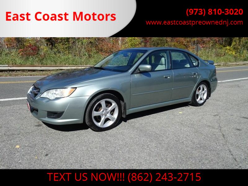 2009 Subaru Legacy for sale at East Coast Motors in Lake Hopatcong NJ
