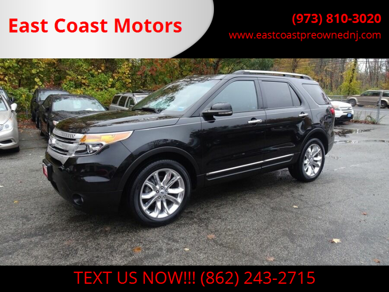 2013 Ford Explorer for sale at East Coast Motors in Lake Hopatcong NJ