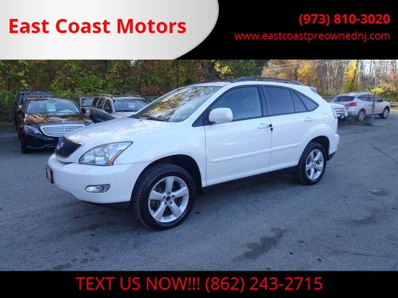 2005 Lexus RX 330 for sale at East Coast Motors in Lake Hopatcong NJ