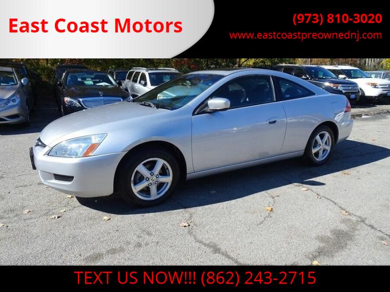 2005 Honda Accord for sale at East Coast Motors in Lake Hopatcong NJ