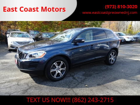 2011 Volvo XC60 for sale at East Coast Motors in Lake Hopatcong NJ