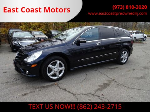 2009 Mercedes-Benz R-Class for sale at East Coast Motors in Lake Hopatcong NJ