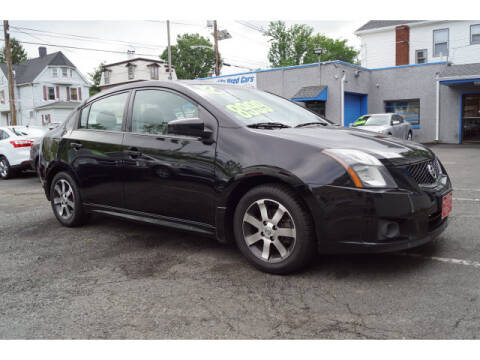 2012 Nissan Sentra for sale at M & R Auto Sales INC. in North Plainfield NJ