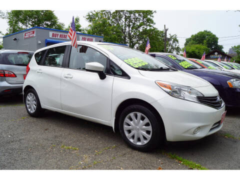 2015 Nissan Versa Note for sale at M & R Auto Sales INC. in North Plainfield NJ