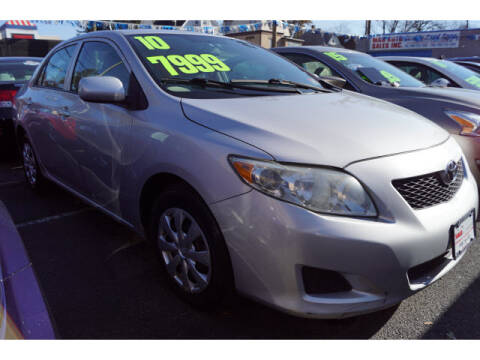 2010 Toyota Corolla for sale at M & R Auto Sales INC. in North Plainfield NJ