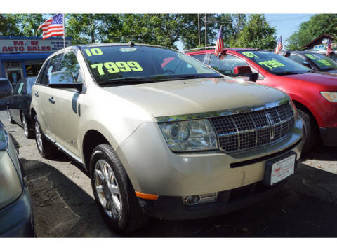 2010 Lincoln MKX for sale at M & R Auto Sales INC. in North Plainfield NJ