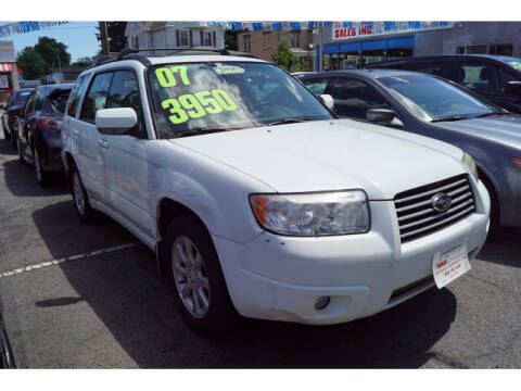 2007 Subaru Forester for sale at M & R Auto Sales INC. in North Plainfield NJ