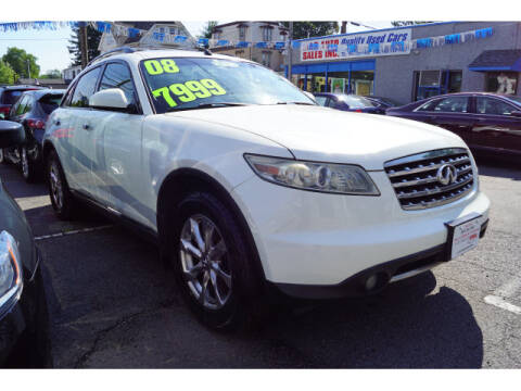 2008 Infiniti FX35 for sale at M & R Auto Sales INC. in North Plainfield NJ