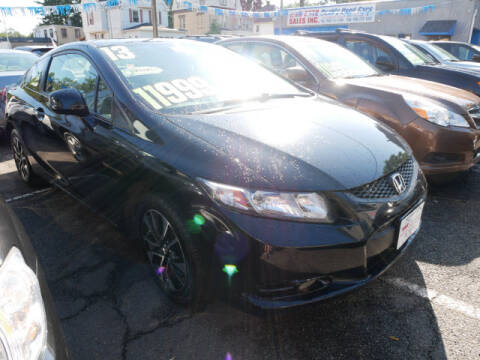 2013 Honda Civic for sale at M & R Auto Sales INC. in North Plainfield NJ