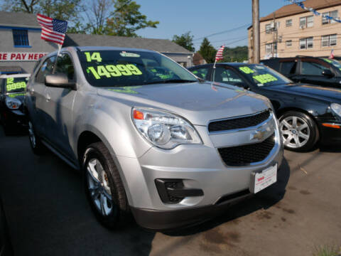2014 Chevrolet Equinox for sale at M & R Auto Sales INC. in North Plainfield NJ