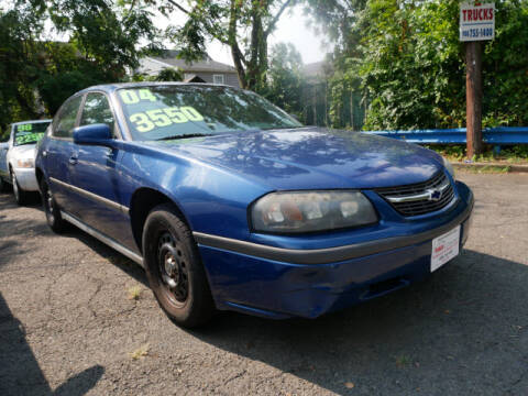 2004 Chevrolet Impala for sale at M & R Auto Sales INC. in North Plainfield NJ