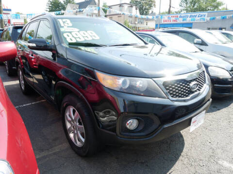 2013 Kia Sorento for sale at M & R Auto Sales INC. in North Plainfield NJ