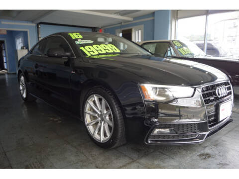 2016 Audi A5 for sale at M & R Auto Sales INC. in North Plainfield NJ