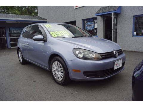 2010 Volkswagen Golf for sale at M & R Auto Sales INC. in North Plainfield NJ