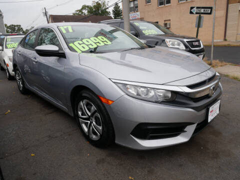 2017 Honda Civic for sale at M & R Auto Sales INC. in North Plainfield NJ