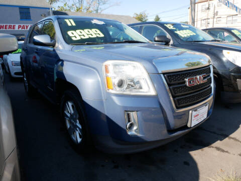 2011 GMC Terrain for sale at M & R Auto Sales INC. in North Plainfield NJ