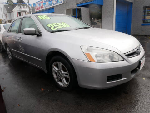 2006 Honda Accord for sale at M & R Auto Sales INC. in North Plainfield NJ