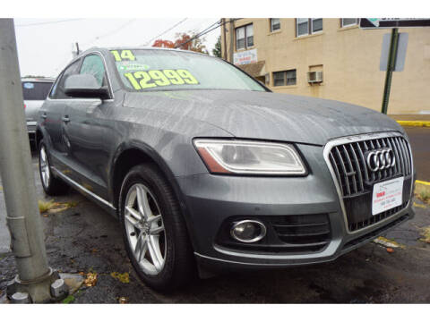 2014 Audi Q5 for sale at M & R Auto Sales INC. in North Plainfield NJ