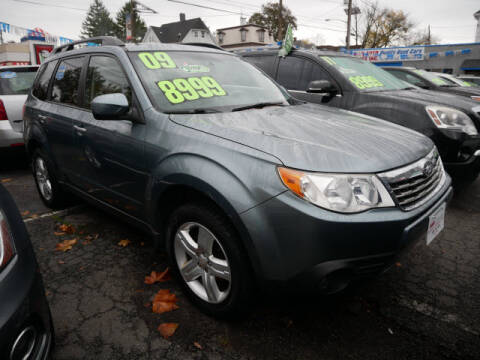 2009 Subaru Forester for sale at M & R Auto Sales INC. in North Plainfield NJ