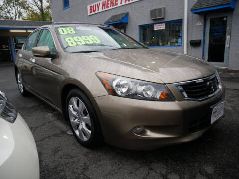 2008 Honda Accord for sale at M & R Auto Sales INC. in North Plainfield NJ