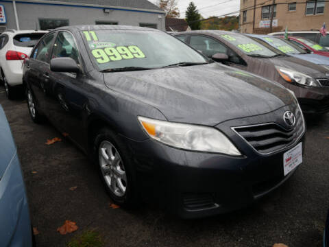 2011 Toyota Camry for sale at M & R Auto Sales INC. in North Plainfield NJ