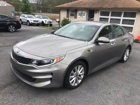 2018 Kia Optima LX for sale at THE AUTOMOTIVE CONNECTION in Atkins VA