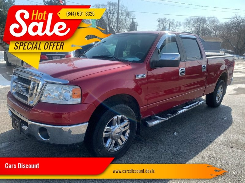 2008 Ford F-150 4x4 XLT 4dr SuperCrew Styleside 5.5 ft. SB - Oregon OH