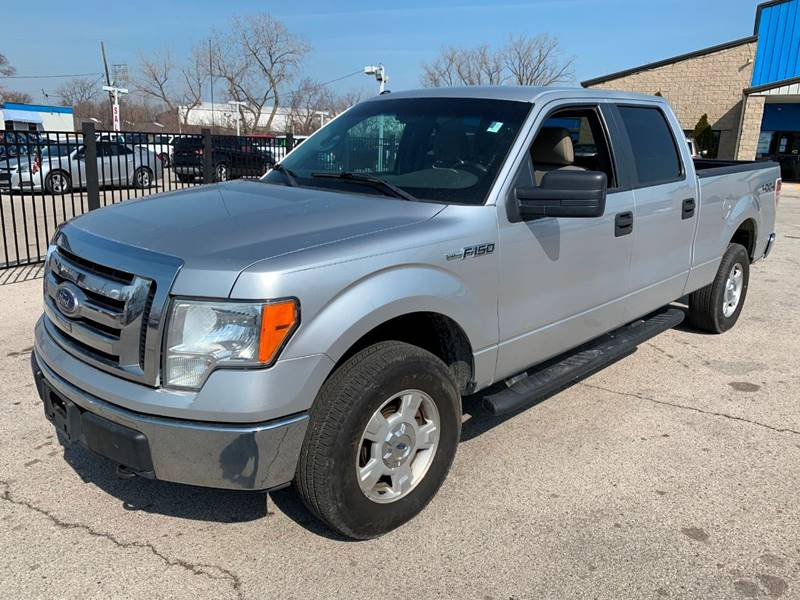 2010 Ford F-150 4x4 XLT 4dr SuperCrew Styleside 5.5 ft. SB - Oregon OH