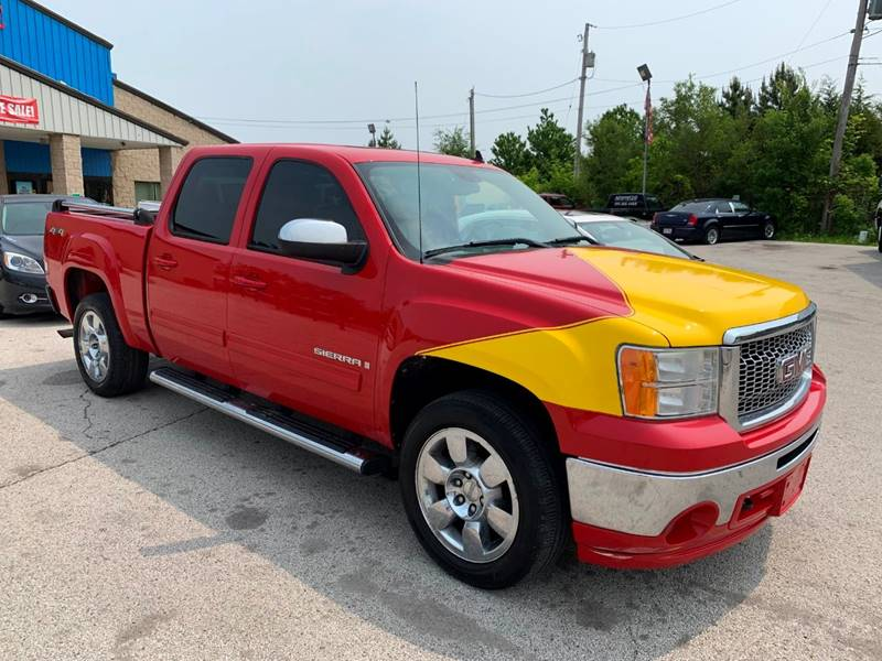 2009 GMC Sierra 1500 4x4 Work Truck 4dr Crew Cab 5.8 ft. SB - Oregon OH