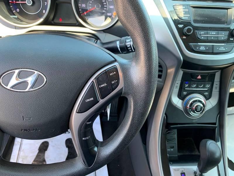 2013 Hyundai Elantra GLS 4dr Sedan 6A - Oregon OH