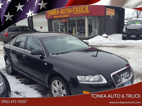 2007 Audi A6 for sale at Tonka Auto & Truck in Mound MN