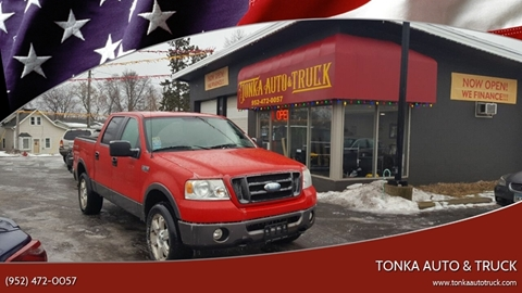 2006 Ford F-150 for sale at Tonka Auto & Truck in Mound MN