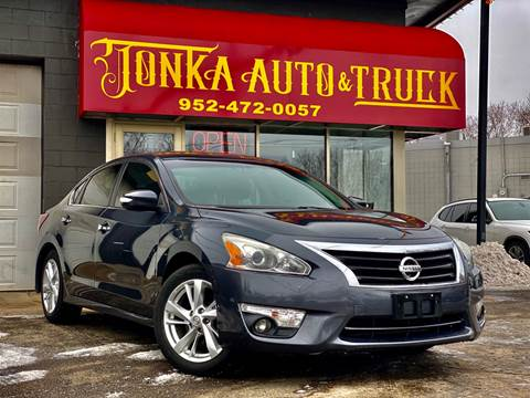 2013 Nissan Altima for sale at Tonka Auto & Truck in Mound MN
