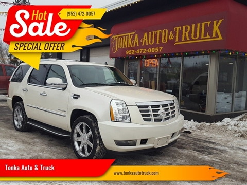 2009 Cadillac Escalade for sale at Tonka Auto & Truck in Mound MN