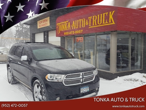 2011 Dodge Durango for sale at Tonka Auto & Truck in Mound MN