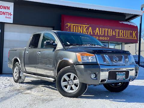 2010 Nissan Titan for sale at Tonka Auto & Truck in Mound MN