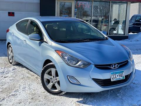 2012 Hyundai Elantra for sale at Tonka Auto & Truck in Mound MN
