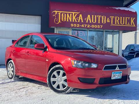2013 Mitsubishi Lancer for sale at Tonka Auto & Truck in Mound MN