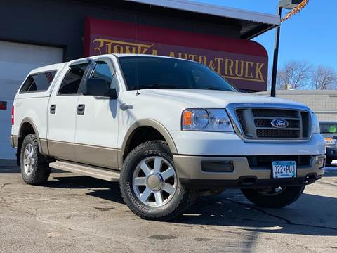 2005 Ford F-150 for sale at Tonka Auto & Truck in Mound MN