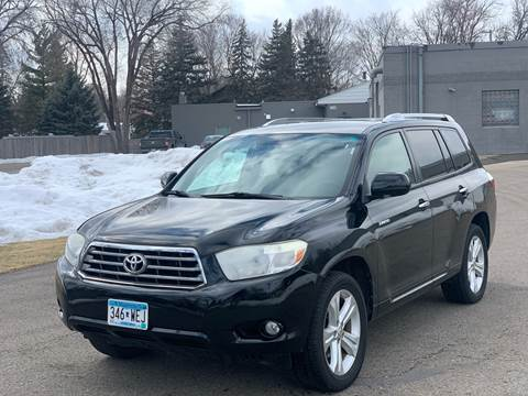 2008 Toyota Highlander for sale at Tonka Auto & Truck in Mound MN