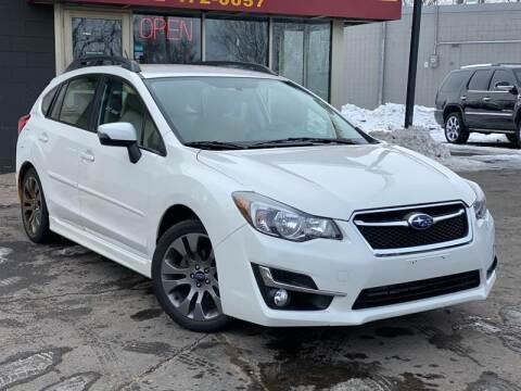 2016 Subaru Impreza for sale at Tonka Auto & Truck in Mound MN